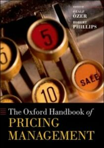 Ebook in inglese Oxford Handbook of Pricing Management -, -