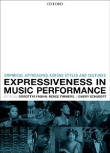 Ebook in inglese Expressiveness in music performance: Empirical approaches across styles and cultures -, -