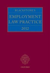Ebook in inglese Blackstone's Employment Law Practice 2012 -, -