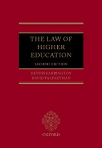 Ebook in inglese Law of Higher Education -, -