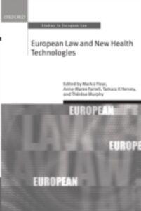 Foto Cover di European Law and New Health Technologies, Ebook inglese di  edito da OUP Oxford
