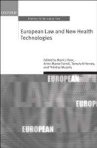 Ebook in inglese European Law and New Health Technologies -, -
