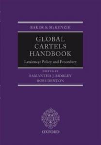 Ebook in inglese Global Cartels Handbook: Leniency: Policy and Procedure -, -