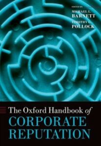 Ebook in inglese Oxford Handbook of Corporate Reputation -, -
