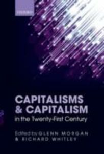 Ebook in inglese Capitalisms and Capitalism in the Twenty-First Century -, -