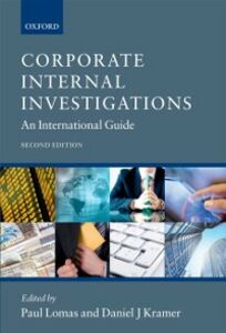 Ebook in inglese Corporate Internal Investigations: An International Guide
