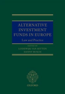 Ebook in inglese Alternative Investment Funds in Europe -, -