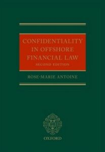 Ebook in inglese Confidentiality in Offshore Financial Law Antoine, Rose-Marie