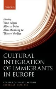 Ebook in inglese Cultural Integration of Immigrants in Europe -, -