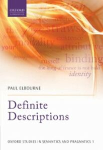 Ebook in inglese Definite Descriptions Elbourne, Paul