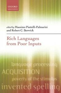 Ebook in inglese Rich Languages From Poor Inputs -, -