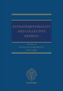Foto Cover di Extraterritoriality and Collective Redress, Ebook inglese di  edito da OUP Oxford