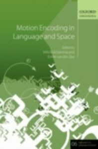 Ebook in inglese Motion Encoding in Language and Space -, -