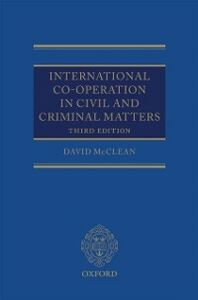 Ebook in inglese International Co-operation in Civil and Criminal Matters McClean, David