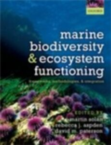 Foto Cover di Marine Biodiversity and Ecosystem Functioning: Frameworks, methodologies, and integration, Ebook inglese di  edito da OUP Oxford