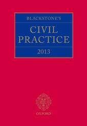Blackstone's Civil Practice 2013
