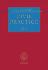Ebook in inglese Blackstone's Civil Practice 2013 -, -