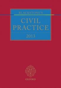 Ebook in inglese Blackstone's Civil Practice 2013 -, -