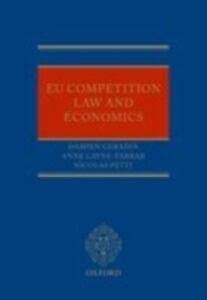 Ebook in inglese EU Competition Law and Economics Geradin, Damien , Layne-Farrar, Anne , Petit, Nicolas