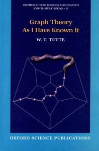 Ebook in inglese Graph Theory As I Have Known It Tutte, W. T.