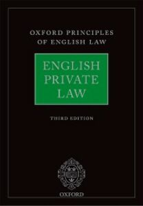 Ebook in inglese English Private Law -, -
