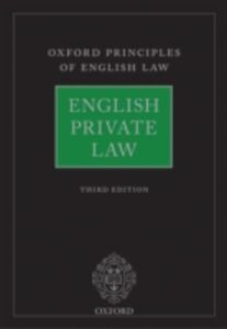 Ebook in inglese English Private Law