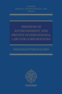 Ebook in inglese Freedom of Establishment and Private International Law for Corporations Paschalidis, Paschalis