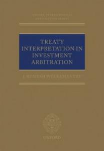 Ebook in inglese Treaty Interpretation in Investment Arbitration Weeramantry, J Romesh