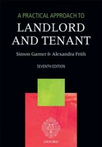 Ebook in inglese Practical Approach to Landlord and Tenant Frith, Alexandra , Garner, Simon