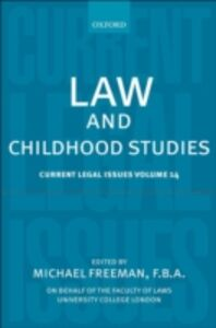 Ebook in inglese Law and Childhood Studies: Current Legal Issues Volume 14 -, -