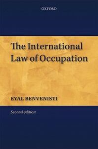 Ebook in inglese International Law of Occupation Benvenisti, Eyal