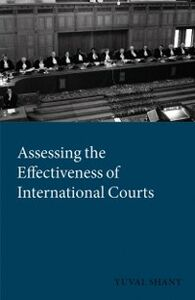 Ebook in inglese Assessing the Effectiveness of International Courts Shany, Yuval