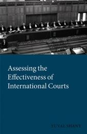 Assessing the Effectiveness of International Courts