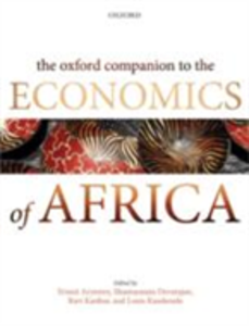 Ebook in inglese Oxford Companion to the Economics of Africa -, -