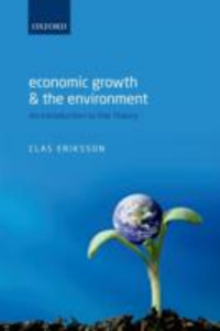 Ebook in inglese Economic Growth and the Environment: An Introduction to the Theory Eriksson, Clas