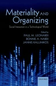 Ebook in inglese Materiality and Organizing: Social Interaction in a Technological World -, -