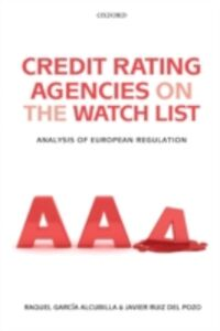 Foto Cover di Credit Rating Agencies on the Watch List: Analysis of European Regulation, Ebook inglese di AA.VV edito da OUP Oxford