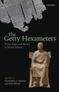 Foto Cover di Getty Hexameters: Poetry, Magic, and Mystery in Ancient Selinous, Ebook inglese di  edito da OUP Oxford