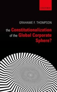 Ebook in inglese Constitutionalization of the Global Corporate Sphere? Thompson, Grahame F.