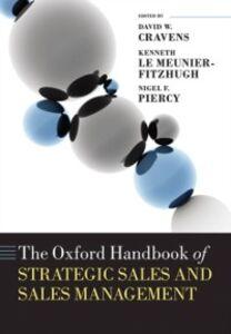 Foto Cover di Oxford Handbook of Strategic Sales and Sales Management, Ebook inglese di  edito da OUP Oxford