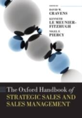 Oxford Handbook of Strategic Sales and Sales Management