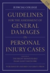 Ebook in inglese Guidelines for the Assessment of General Damages in Personal Injury Cases