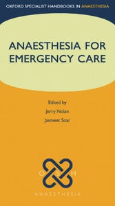 Ebook in inglese Anaesthesia for Emergency Care -, -