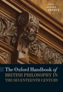 Ebook in inglese Oxford Handbook of British Philosophy in the Seventeenth Century -, -