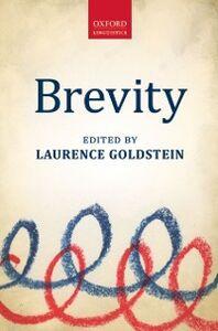 Foto Cover di Brevity, Ebook inglese di  edito da OUP Oxford