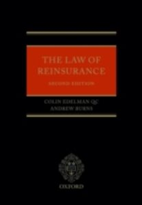 Foto Cover di Law of Reinsurance, Ebook inglese di Andrew Burns,Colin Edelman QC, edito da OUP Oxford
