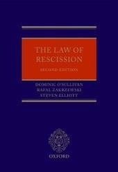 Law of Rescission