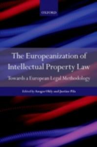Ebook in inglese Europeanization of Intellectual Property Law: Towards a European Legal Methodology -, -