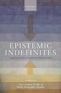 Ebook in inglese Epistemic Indefinites: Exploring Modality Beyond the Verbal Domain -, -