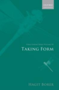 Ebook in inglese Structuring Sense: Volume III: Taking Form Borer, Hagit